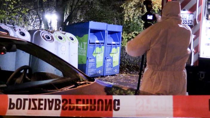 Leiche in Duisburger Wald gefunden -Ehemann festgenommen