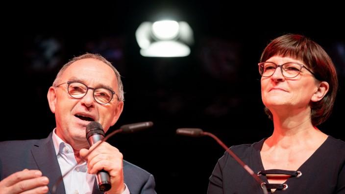 Vor dem SPD-Parteitag - Presseabend