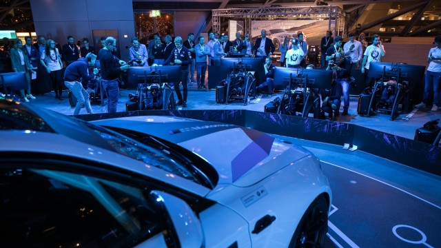 BMW-Simulationsrennen, BMW Motorsport Sim-Racing Event