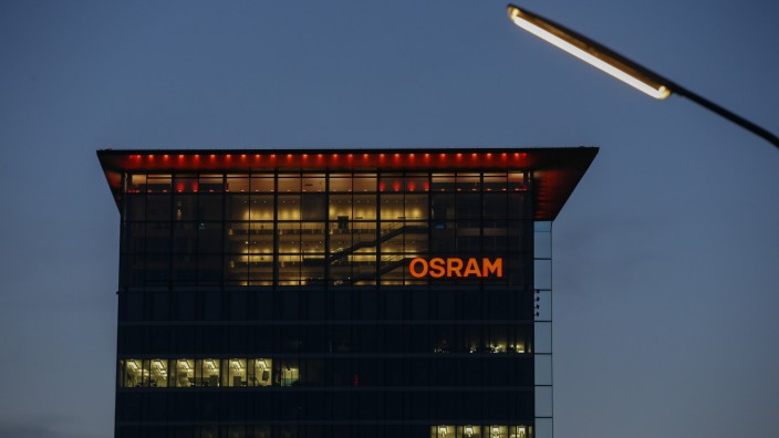 Osram Licht AG Headquarters As U.S. Buyout Funds Offer Competing Bids