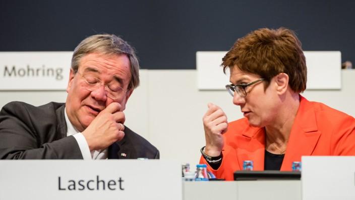 Laschet, Kramp-Karrenbauer, CDU