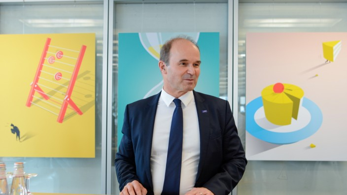 Martin Brudermüller, Vorstandsvorsitzender BASF SE Montags-IV am 9.12.