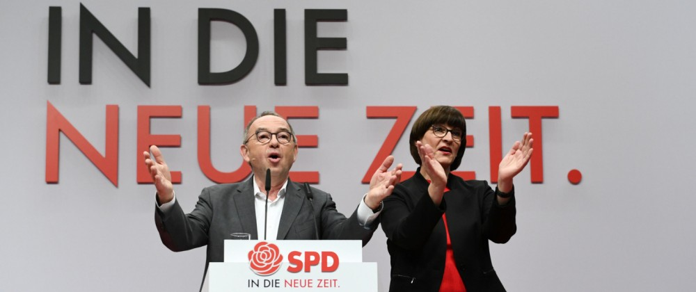 Social Democratic Party (SPD) holds a party congress in Berlin