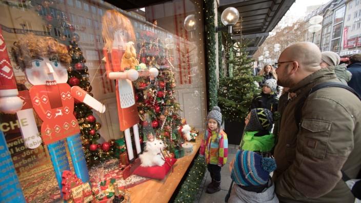 Weihnachtseinkaufswahnsinn