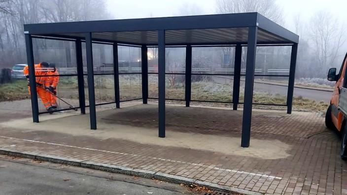 Schulbushaltestelle