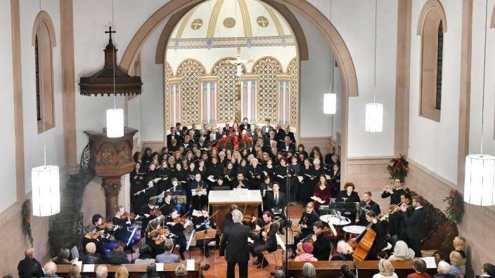 Starnberg , Friedenskirche Konzert