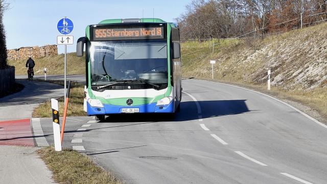Weßling,  Bus -Linie 955