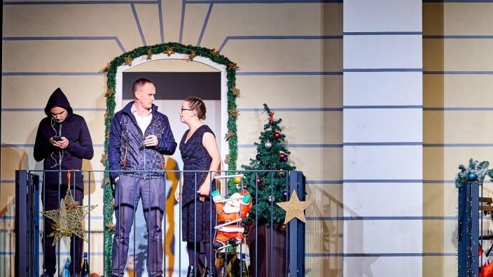 Theaterverein MS Weihnachten auf dem Balkon