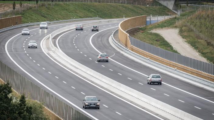 Autobahn A94 bei München, 2019
