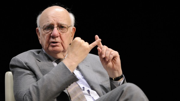 Former Fed Chairman Volcker Speaks At Event