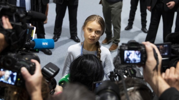 Greta Thunberg Speaks at COP25 About 'Fridays For Future' Movement