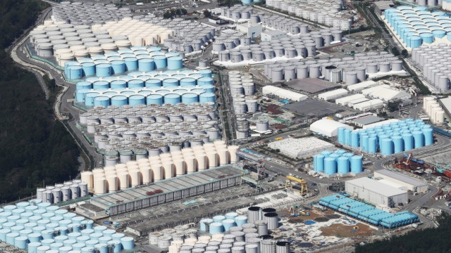 Fukushima Wasser Tanks
