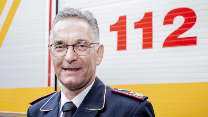 Chef Feuerwehrverband Hartmut Ziebs