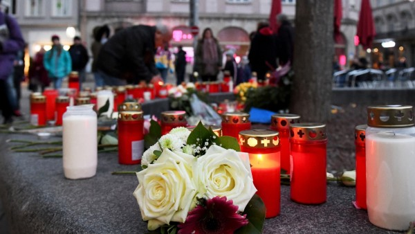 Trauer am Königsplatz Augsburg