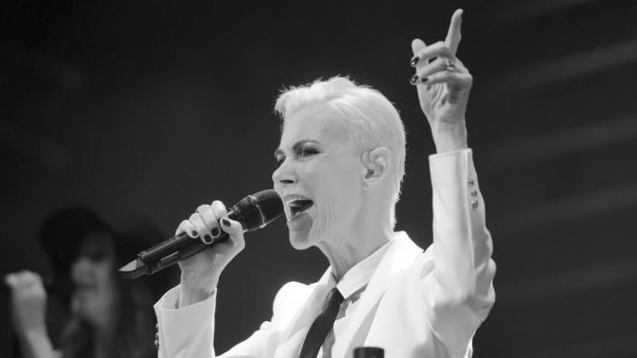 Roxette-Sängerin Marie Fredriksson 2015 in Köln