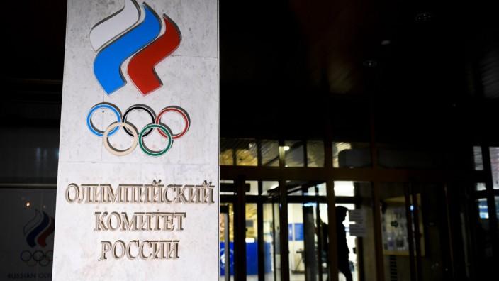Sperre gegen Russland: Am Montag verhängte das Exekutivkomitee der WADA eine vierjährige Sperre gegen Russland.