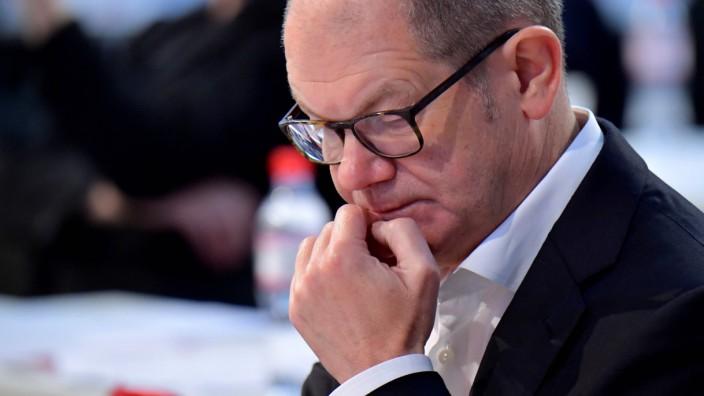 Bundesfinanzminister Olaf Scholz (SPD) 2019 in Berlin