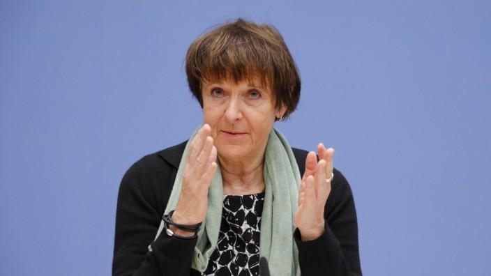 Maria Krautzberger, Präsidentin des Umweltbundesamtes (UBA), Deutschland, Berlin, Bundespressekonferenz, Thema: Monitor