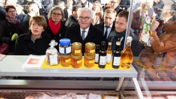 Bundespräsident besucht Pulsnitz