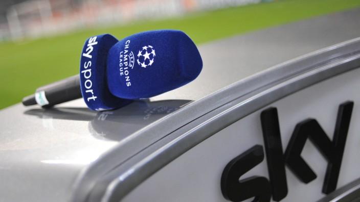 Champions League-Übertragung bei Sky