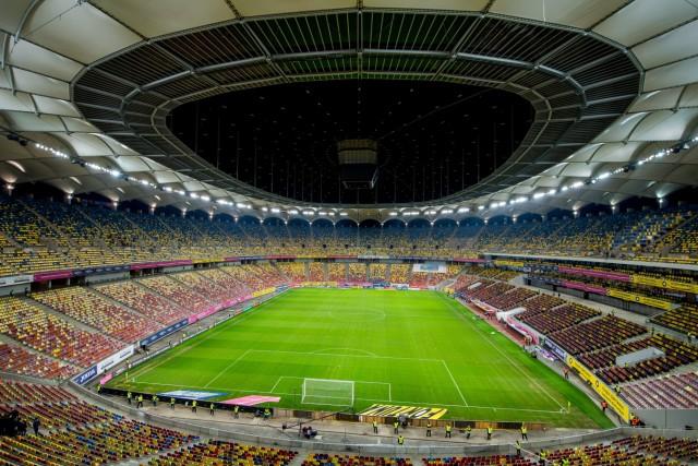 191015 General view of Arena Nationala ahead of the UEFA EURO, EM, Europameisterschaft,Fussball Qualifier, EM, Europame