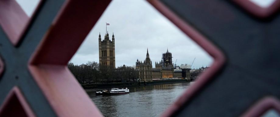 Großbritannien Unterhaus Parlament