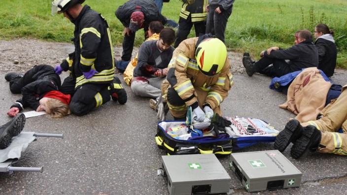 Katastrophenschutzübung in Unterschleißheim, 2019