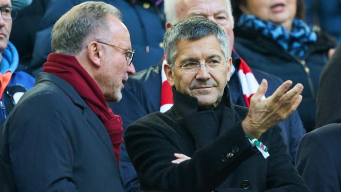 Football Fortuna Düsseldorf-FC Bayern Munich , Duesseldorf November 23, 2019. Herbert HAINER, FCB president and Ex CEO