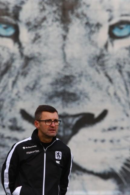 Trainer Michael Köllner / Fussball / 3. Liga /11.12.2019/ TSV 1860 München / Training / *** Coach Michael Köllner Socce