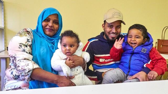 Adventskalender, Flüchtlingsfamilie aus Somalia