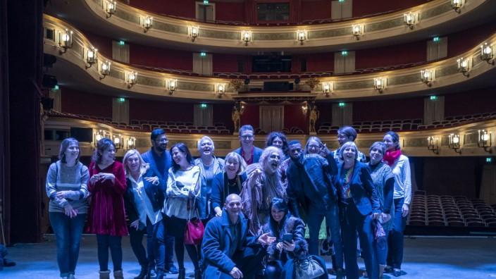 Theatergemeinde Migranten Besuch im Gärtnerplatz