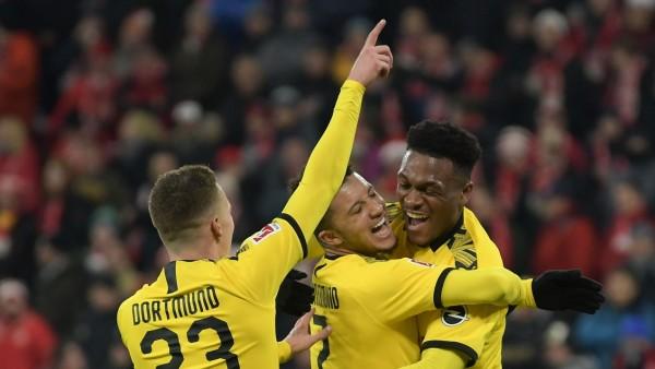 14.12.2019, xmhx, Fussball 1.Bundesliga, FSV Mainz 05 - Borussia Dortmund emspor, v.l. Jadon Sancho (Borussia Dortmund)