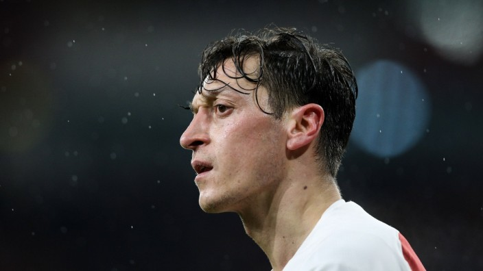 Mesut Ozil of Arsenal during the Premier League match at the Emirates Stadium, London. Picture date: 29th January 2019.