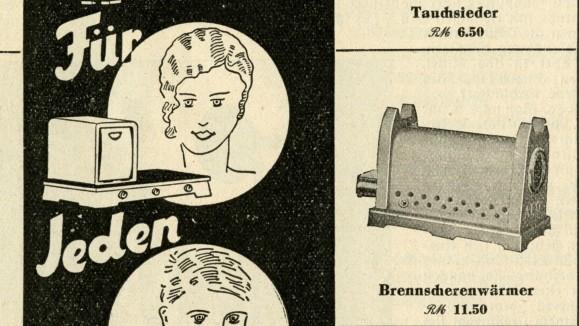 """Nachrichtenblatt der """"Bayerischen Electricitäts-Lieferungs-Gesellschaft"""" vom Dezember 1930"""
