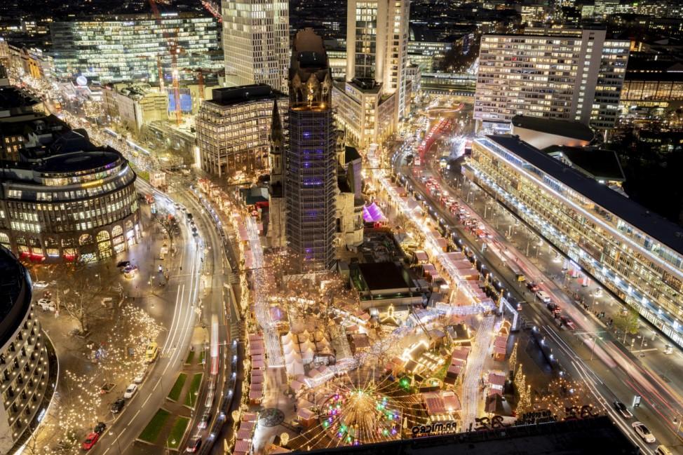 Gedenken an Terroranschlag auf dem Berliner Weihnachtsmarkt