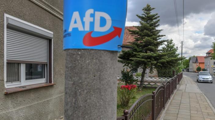 Wahlplakat der AfD in Brandenburg