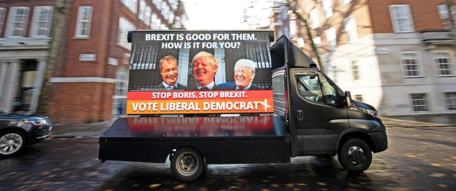 Wahlkampf in Großbritannien