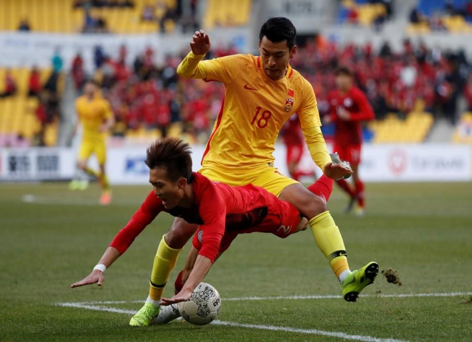 2019 EAFF E-1 Football Championship - Hong Kong v China