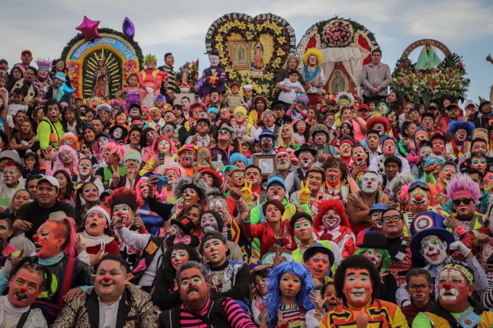 Clown-Pilgerreise in Mexiko