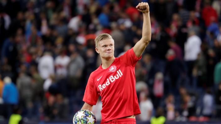 Champions League - Group E - FC Salzburg v KRC Genk