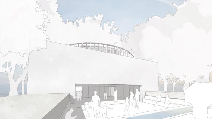 Eine erste Skizze: So soll das Gebetshaus aussehen.