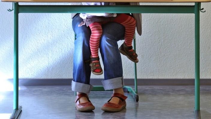 Landtagswahlen Sachsen - Wahllokal