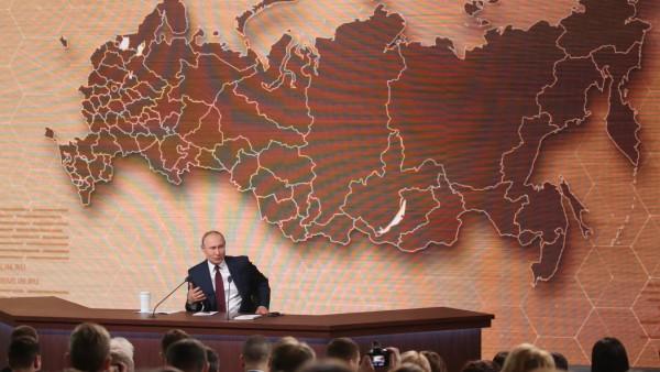 Russia's Putin Delivers Annual Address
