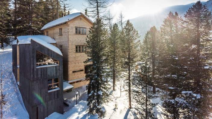 Österreich Skifahren Hotel Turracher Höhe Ferienhaus Troadkästen Winter Ski