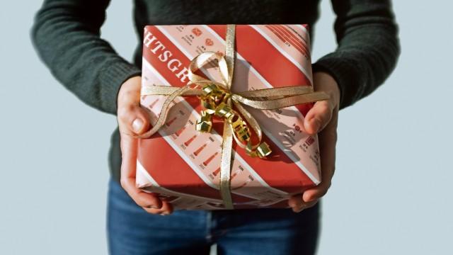 Das verpackte Geschenk für Buch 2 Weihnachten