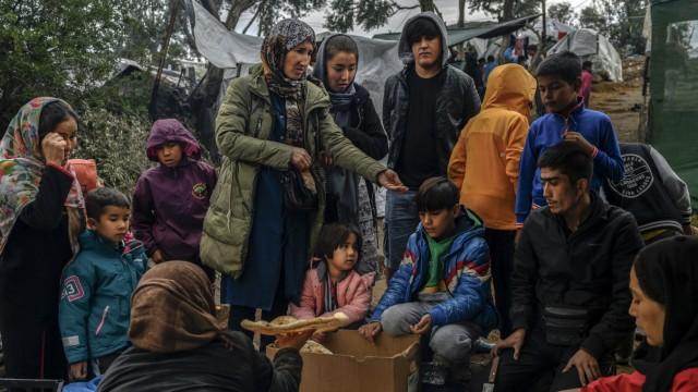 Flüchtlingslager Lesbos