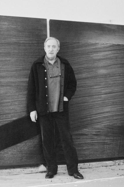 Portrait of Pierre Soulages le 4 juin 1984 AUFNAHMEDATUM GESCHÄTZT PUBLICATIONxINxGERxSUIxAUTxHUNx