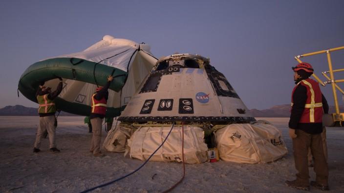 """Raumschiff ´Starliner"""" nach missglücktem Start wieder gelandet"""