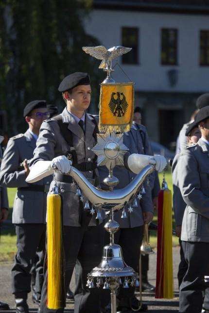Abschlussappell des Offizierlehrganges im Fliegerhorst Fürstenfeldbruck, 2019