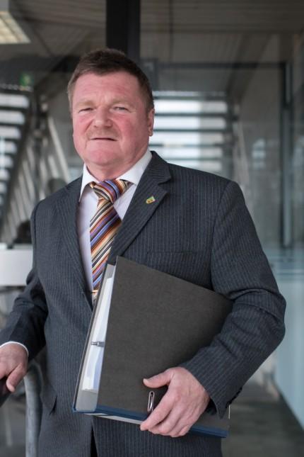 Finanzreferent Holger Linde